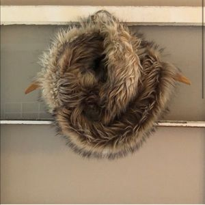 Accessories - Mossimo Faux Fur Infinity Scarf